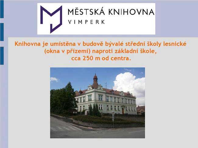 Městská knihovna Vimperk