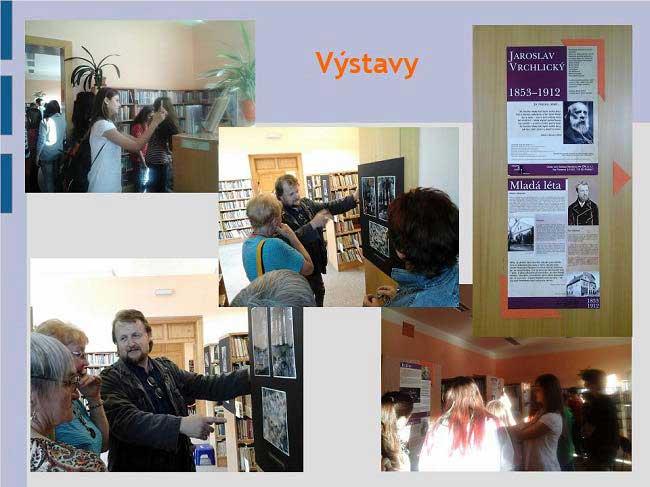 Městská knihovna Vimperk - výstavy