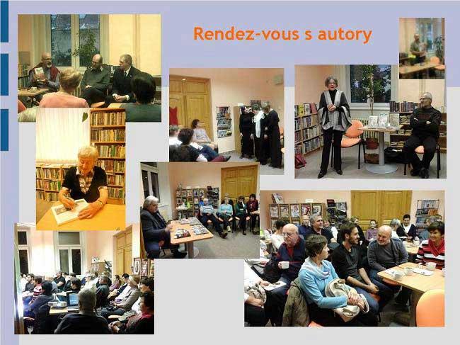 Městská knihovna Vimperk - rendez-vous s autory