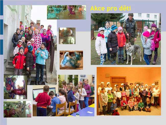 Městská knihovna Vimperk - akce pro děti