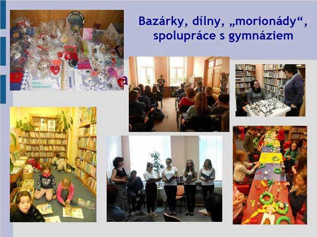 Městská knihovna Vimperk - akce pro všechny