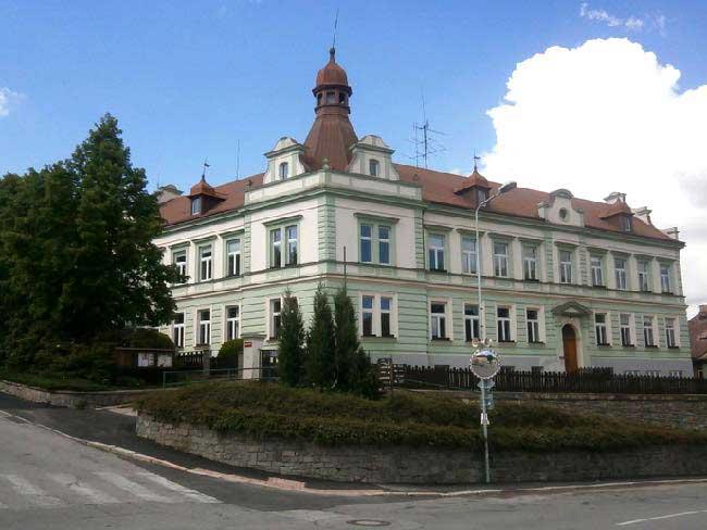 Městská knihovna Vimperk - celkový pohled